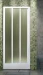Aquatek ROYAL B3 zasúvacie sprchové dvere 80-140 cm grape