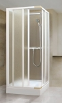 Aquatek ROYAL D4 sprchový kút 80-90 cm