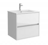 Salgar NOJA skrinka s umývadlom 60 cm lesklá biela