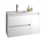 Salgar NOJA skrinka s umývadlom 85 cm s 2 zásuvkami a bočnou skrinkou
