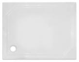 SAM sprchová vanička obdĺžniková 100 x 80-90 cm