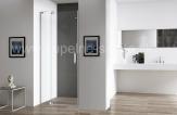 SAM Sprchové dvere s pevnou stenou 80-90-100 cm