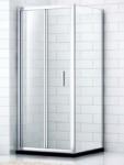 SAM sprchový kút, skladacie dvere 80/90 cm SamQ8+QS