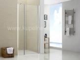 SAM Sprchové dvere s pevnou stenou 110-120-130-140 cm