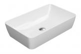 SAND umývadlo na dosku 60 cm lesklá biela