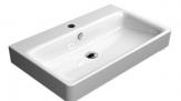SAND keramické umývadlo 80 cm biela