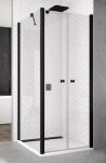 Ronal SanSwiss SOLINO štvorcový/obdĺžnikový sprchový kút 70/80/90/100 x 70/80/90/100/120cm
