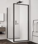 Ronal SanSwiss TOP LINE S štvorcový/obdĺžnikový sprchový kút 70/75/80/90/100 cm čierny