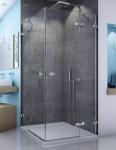 SanSwiss ESCURA štvorcový sprchový kút 75, 80, 90, 100, 120 cm