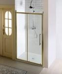 Gelco ANTIQUE retro sprchové dvere posuvné 110/120/130/140 cm bronz