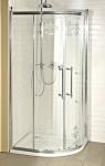 Gelco ANTIQUE retro štvrťkruhový sprchový kút 100 cm chróm