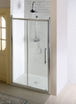 Gelco ANTIQUE retro sprchové dvere posuvné 140 cm chróm