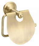 ASTOR retro držiak toaletného papiera bronz