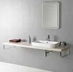 AVICE doska pod umývadlo 160-180-200-220-240-250 cm travertin Tivoli