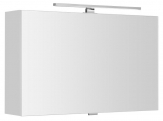 CLOE zrkadlová skrinka s osvetlením výklopná 80-100-120 cm