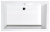 Polysan DEEP obdĺžniková sprchová vanička hlboká 100-120 x 90 cm