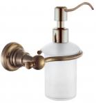 DIAMOND retro dávkovač mydla bronz