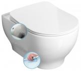 GARCIA závesné WC Rimless s bidetovou tryskou