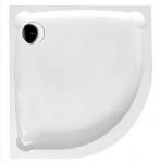 Gelco HERA retro štvrťkruhová sprchová vanička 90x90 cm liaty mramor