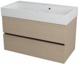 LARGO skrinka s umývadlom 90 cm dub benátsky