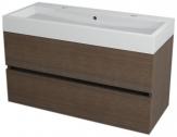 LARGO skrinka s umývadlom 100 cm borovica rustik