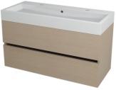 LARGO skrinka s umývadlom 100 cm dub benátsky