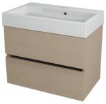 LARGO skrinka s umývadlom 70 cm dub benátsky