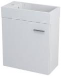 LATUS IV umývadlová skrinka 49,5 x 50 cm biela