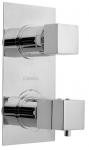 LATUS sprchová batéria podomietková termostatická 2 výstupy