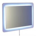 LORDE zrkadlo s led osvetlením  90 x 60 cm