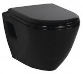 PAULA závesné WC čierne