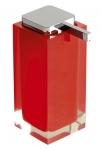 RAINBOW dávkovač mydla na postavenie červený