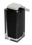 RAINBOW dávkovač mydla na postavenie čierny