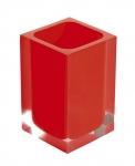 RAINBOW pohár na postavenie červený