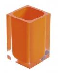 RAINBOW pohár na postavenie oranžový