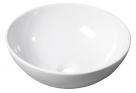 RONDA umývadlo na dosku okrúhle 41 cm biele