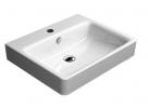 SAND keramické umývadlo  60 cm biela