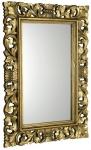 SCULE retro zrkadlo zlaté