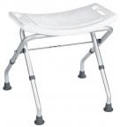 SENIOR stolička do kúpeľne pre telesne postihnutých sklopná