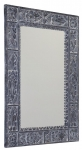 UBUD retro zrkadlo 70x100 cm šedobiela patina