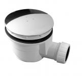 Vaničkový sifón, 90 mm, nerez