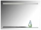 VERA zrkadlo s LED osvetlením a policou 80, 100 cm