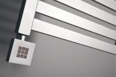 Vykurovacia tyč s termostatom strieborná