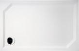 Gelco SARA obdĺžniková sprchová vanička 110 cm hladká