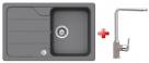 Schock FORMHAUS D-100S granitový drez 78x50 cm Croma+drezová batéria