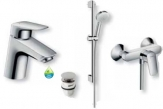 Hansgrohe set LOGIS sprchový push-open