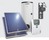 EKONOMIK solárna zostava 2 kolektory + kombinovaný ohrievač TV 200 l