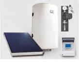 SUPEREKONOMIK solárna zostava kolektor + kombinovaný ohrievač TV 150 l