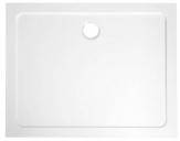 Aqualine TECMI obdĺžniková sprchová vanička 100 x 70/80/90 cm liaty mramor