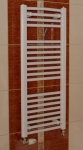 Thermal kúpeľňový radiátor typ KD so šírkou 45 cm rovný biely